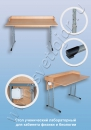 Стол ученический лабораторный для кабинета физики и биологии