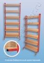 Мебель для библиотеки Стеллаж библиотечный односторонний