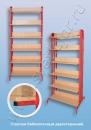 Мебель для библиотеки Стеллаж библиотечный двухсторонний