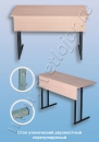 Столы ученические Стол ученический двухместный нерегулируемый