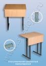Столы ученические Стол ученический одноместный нерегулируемый