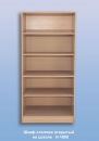 Шкаф-стеллаж открытый   на цоколе  Н-1800 / 0,45