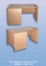 Стол офисный эргономичный  ЛЕВЫЙ  L-1400 / 0,45