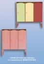 Шкаф детский для одежды 3-х секционный  ДОШКОЛЬНИК  898х320х1320 мм