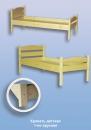 Кровать детская деревянная L-1400