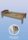 """Кровать детская деревянная """"МАЛЮТКА"""" L-1400"""