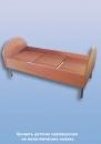 Кровать детская металлические ножки L-1400