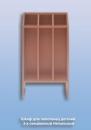 Шкаф для полотенец детский 3-х секционный Напольный