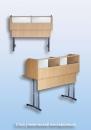 Стол ученический лингафонный регулируемый